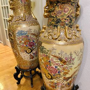 Beautiful Tall Decorative Vases For Sale for Sale in Mountlake Terrace, WA