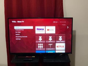 43 in tcl 4K roku tv for Sale in Washington, DC