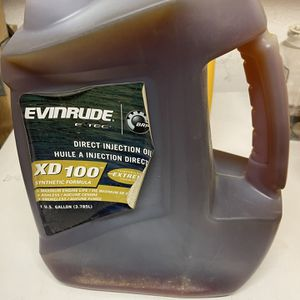 For Sale Evenrude XD 100 2 Stroke Oil for Sale in Huntington Beach, CA