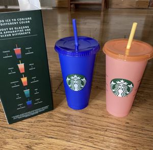 Starbucks Color Changing Cups (2) for Sale in San Diego, CA