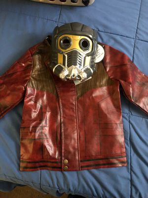 Authentic Disney store costume Marvel Guardians of the Galaxy Star Lord costume 5/6 for Sale in Commerce, CA