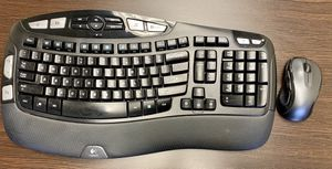 Logitech wireless keyboard and mouse for Sale in Dallas, TX