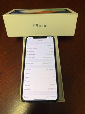 iPhone X 256gb unlocked for Sale in Everett, WA