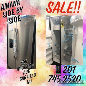 Amana Side by Side SALE!! for Sale in Garfield, NJ