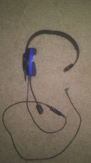 Play Station 4 Recon Chat Head Set for Sale in Hayward, CA