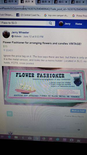 Flower Fashioner for Sale in San Luis Obispo, CA