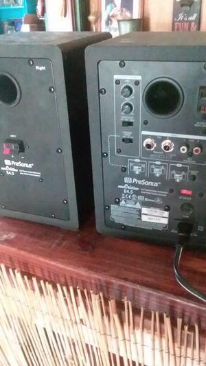 Presonus monitor/speakers for Sale in Glenmora, LA