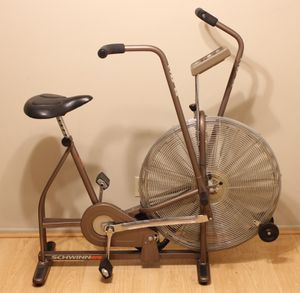 Schwinn Airdyne Upright Bike Indoor Stationary Fan Bicycle Cycling Exercise Fitness Crossfit Vintage for Sale in San Dimas, CA