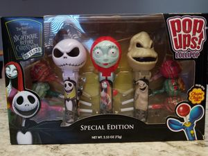 Nightmare Before Christmas Pop-Ups 3pk Special Edition Lollipop Chupa Chups for Sale in Anaheim, CA