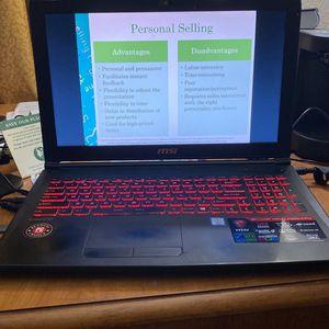 MSI GP62MVR 7RFX LEOPARD PRO Gaming Laptop for Sale in Alexandria, VA