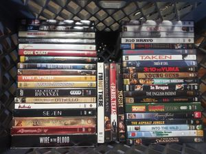 Huge dvd lot of 75. All great shape. Great titles. for Sale in Westminster, CA