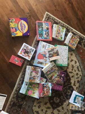 A ton of puzzles and games for Sale in Portland, OR