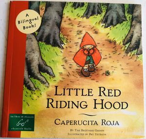 Little Red Riding Hood - BILINGUAL for Sale in Balch Springs, TX