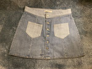 Zara jean skirt size L for Sale in Norco, CA
