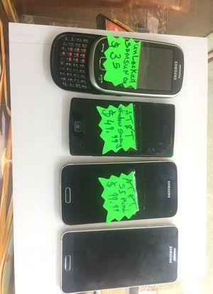 Samsung ,att windows Samsung ,S5 mini galaxy alpha att read for Sale in Cleveland, OH