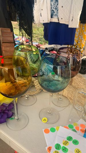 Wine glasses for Sale in Beaumont, CA