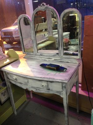 Shabby Chic vintage vanity for $150.00 for Sale in Southington, CT