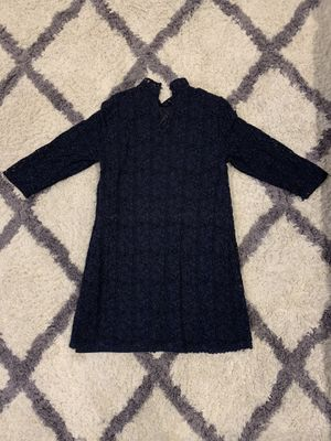 Authentic Zara Dark Blue Dress Very Good Condition! Size L for Sale in Las Vegas, NV