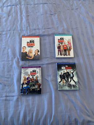Big Bang Theory DVDs - seasons 1-4 for Sale in New York, NY