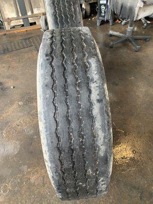 2 tires & wheels 295/75R22.5 for Sale in Phoenix, AZ