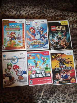 Nintendo Wi Mario.Games for Sale in Woonsocket, RI