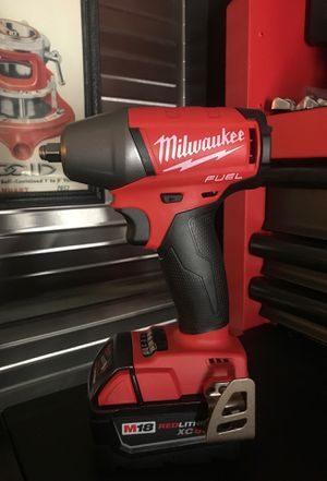 MILWAUKEE M18 FUEL 3/8 IMPACT WRENCH W 5.0 BATTERY BRAND NEW for Sale in Virginia Beach, VA