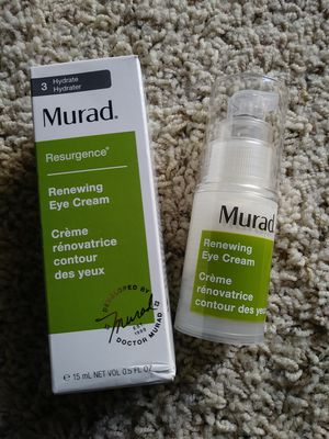 Murad eye cream - never used - for dark circles & puffiness ; wrinkles for Sale in Irvine, CA