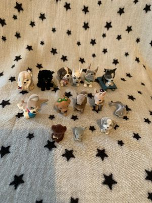 Pet in my pocket fuzzy mini figures for Sale in Stockton, CA