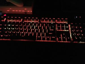 Corsair strafe and Logitech g600 for Sale for sale  North Bergen, NJ