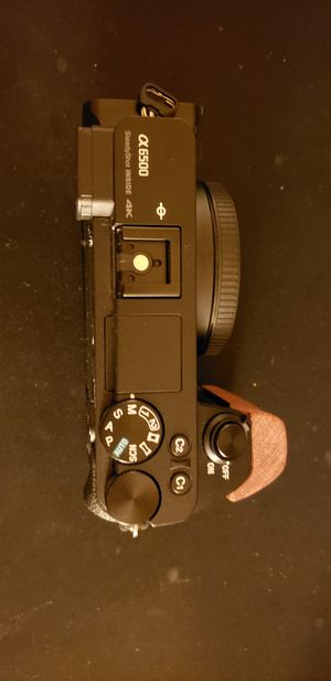 Sony a6500 with Small Rig Wooden L Bracket for Sale in San Francisco, CA