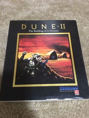 Original copy of Dune 2 for IBM 3.5 floppy for Sale in Gresham, OR