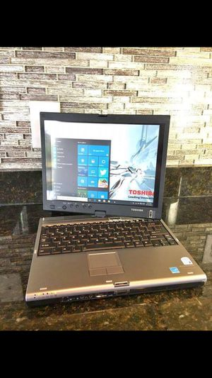 """12"""" Toshiba Portege M400 Touch Screen Tablet PC Laptop with Windows 10, Microsoft Office. for Sale in Orlando, FL"""