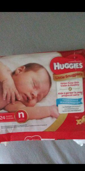 Newborn huggies diapers for Sale in Riverside, CA