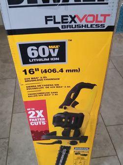 Dewalt Chainsaw New for Sale in Dallas,  TX