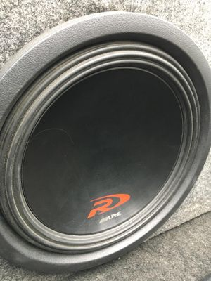 Alpine Type R 12inch Subwoofer for Sale in Springfield, VA