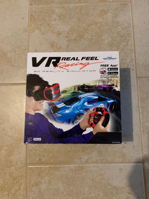 New In Boxes-VR real feel racing 3D simulator for Sale in Choctaw, OK