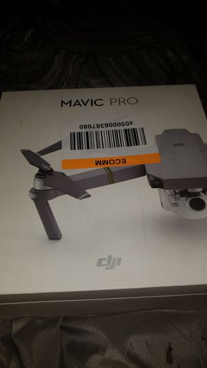 Mavic Pro New Never Used - No trade-In and No I will not accept less than $550. If that is too much, please keep scrolling. for Sale in Detroit, MI