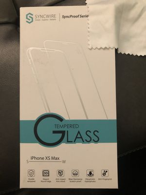Screen protector IPhone XS Max for Sale in Hope Mills, NC