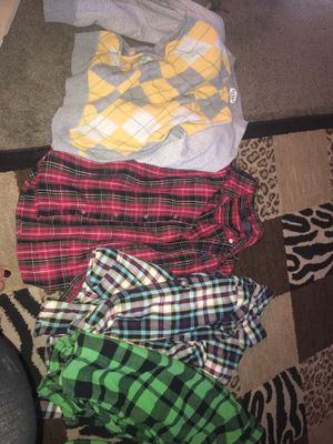 Size large boy clothes for Sale in Lake Elsinore, CA