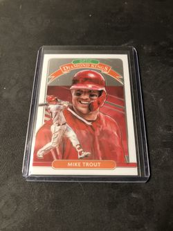 Donruss Optic Diamond Kings Mike Trout #9 for Sale in San Angelo,  TX