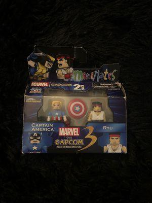 Marvel vs Cap-com Captain America and Ryu for Sale in Alexandria, VA