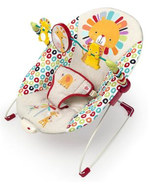 Baby bouncer with toy bar and vibration for Sale in St. Petersburg, FL