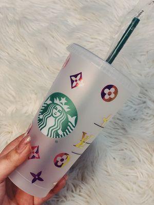 Custom Reusable Starbucks Cold Tumbler for Sale in Rockville, MD