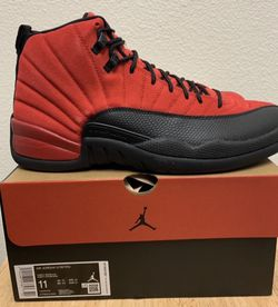 "Jordan 12 Retro ""Reverse Flu"" Bred Size 11 DS DeadStock for Sale in West Covina,  CA"