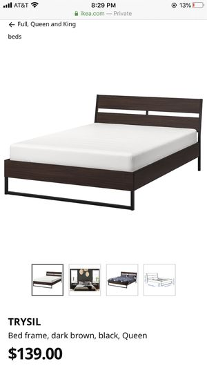 IKEA trysil queen bed frame for Sale in San Diego, CA