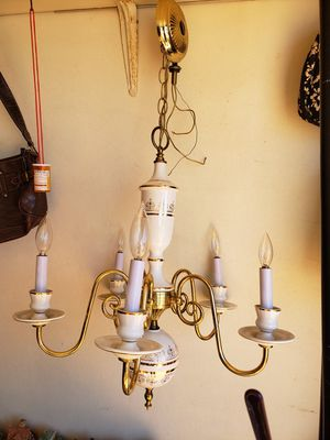 Gold plated chandelier for Sale in Holiday, FL