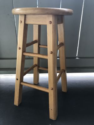 Wood Bar Stool for Sale in Ewa Beach, HI