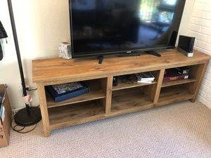 Large TV Stand with shelves for Sale in San Francisco, CA