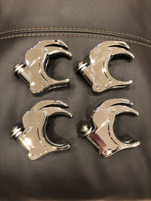 Harley Davidson Motorcycle Quick Release Windshield Clamps 49mm for Sale in Glendale, AZ