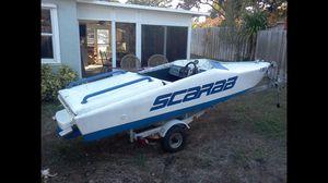 Scarab mini speedboat 16' for Sale in Fort Lauderdale, FL